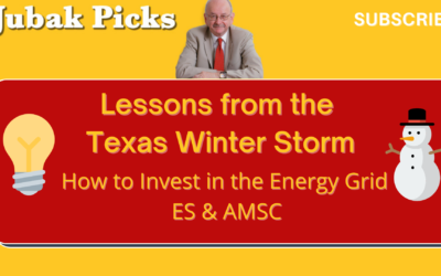 Watch my new YouTube video: Lessons from the Texas Winter Storm: How to Invest in the Energy Grid